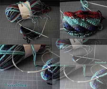 Comment changer de couleur pendant le tricot?