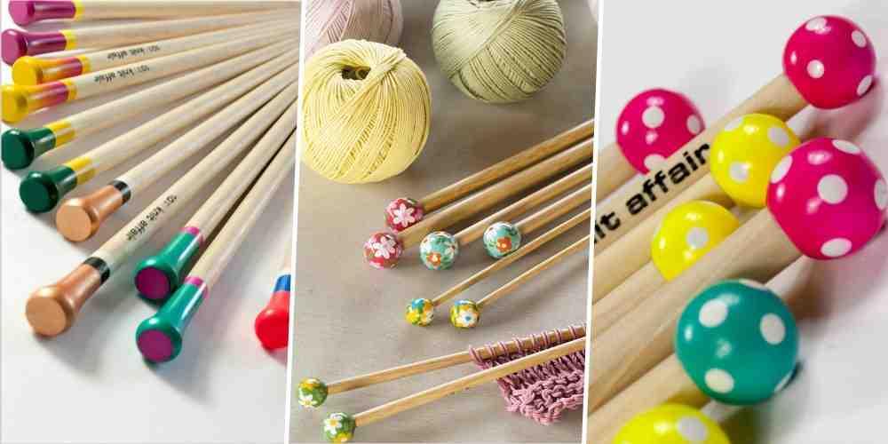 Comment écarter une aiguille à tricoter?