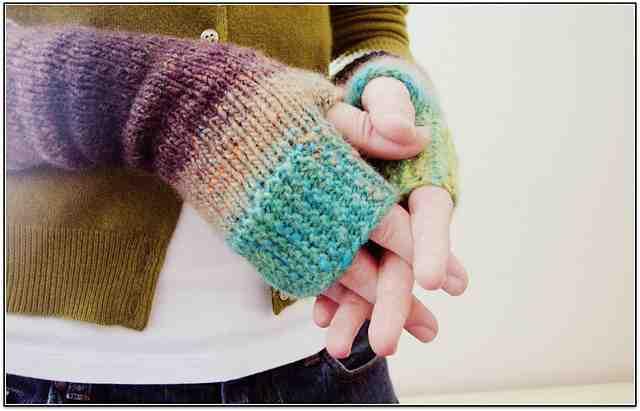 Comment fabriquer des gants avec les doigts?