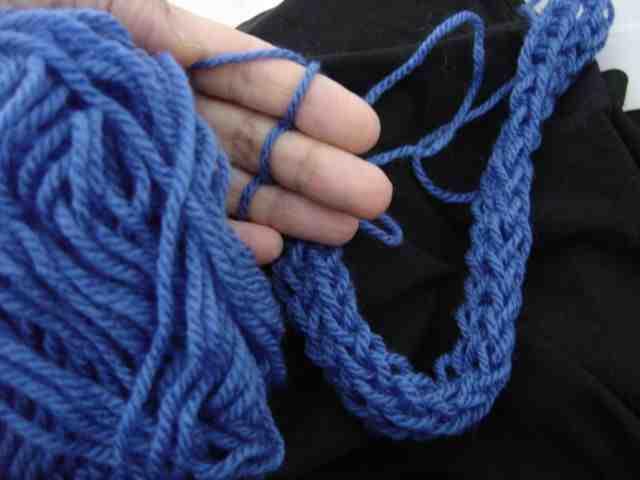 Comment faire un plaid tricoté?