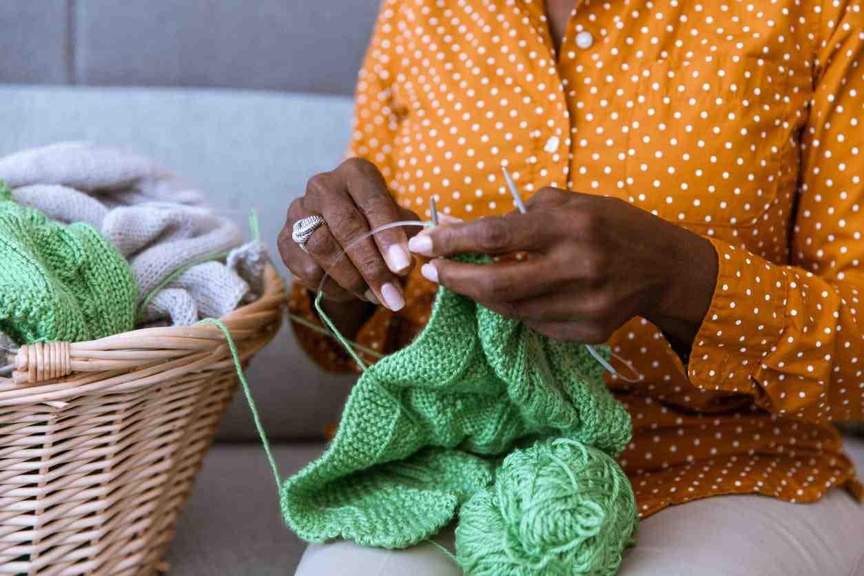 Comment mesurer un tricot en cours?