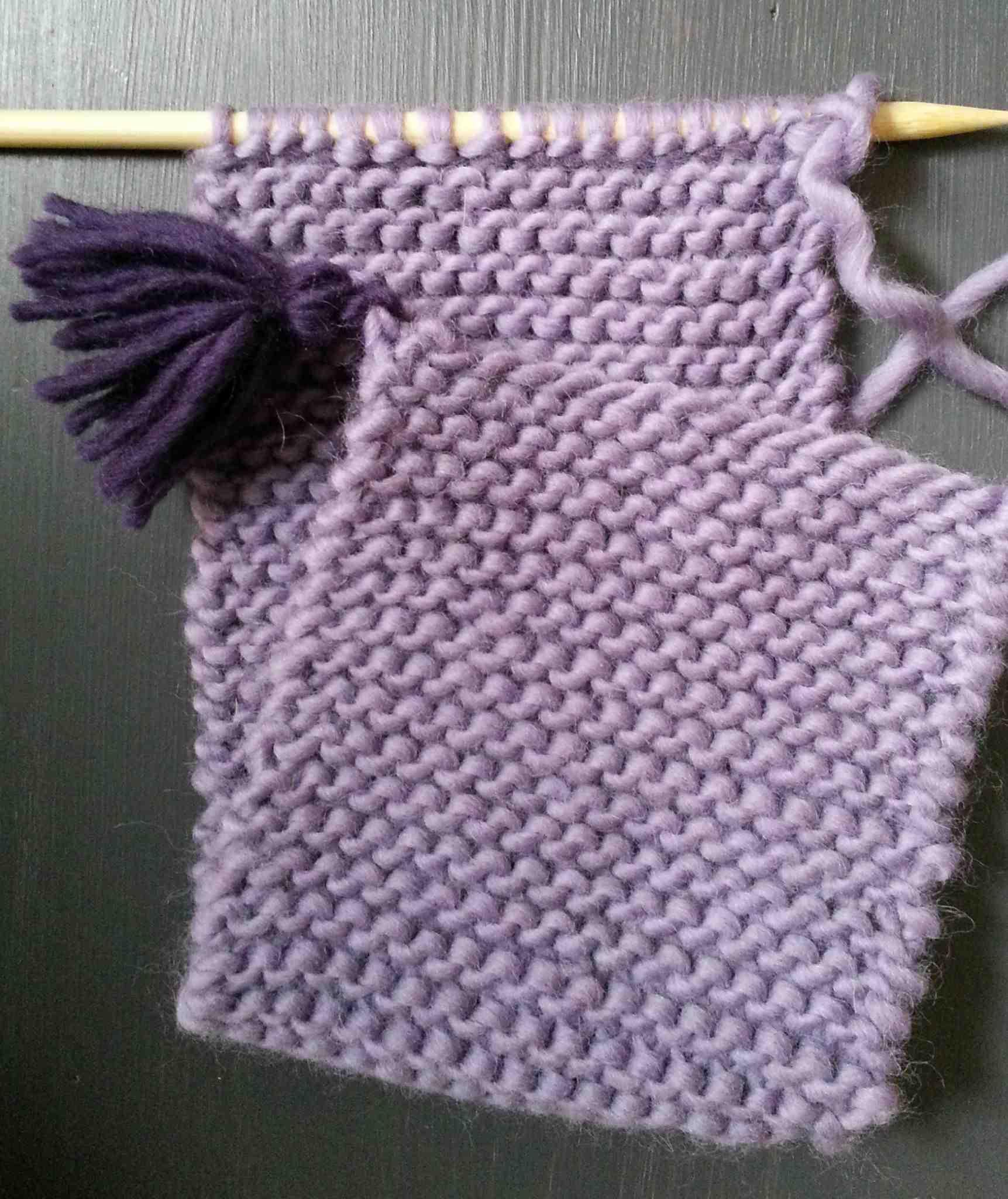 Comment reconnaître le tricot de la couture arrière droite?