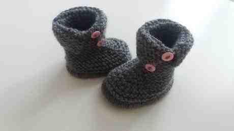 Comment tricoter des bottes pour enfants?