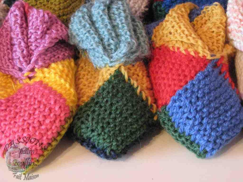 Comment tricoter des chaussons avec semelle?