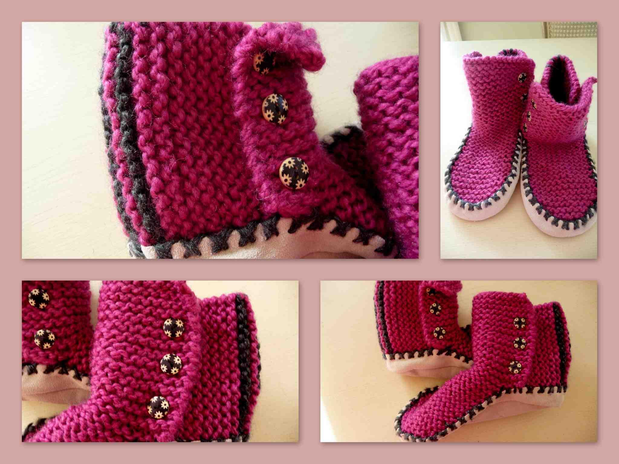 Comment tricoter des chaussons en laine?