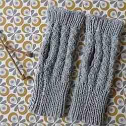 Comment tricoter des gants avec les doigts?