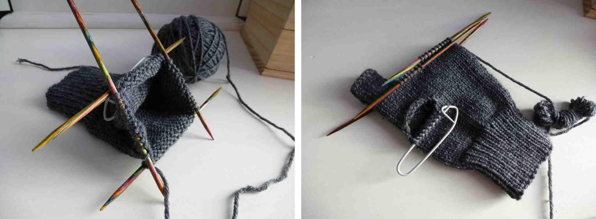 Comment tricoter des gants avec vos doigts?