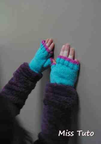 Comment tricoter des gants sans doigts faciles?