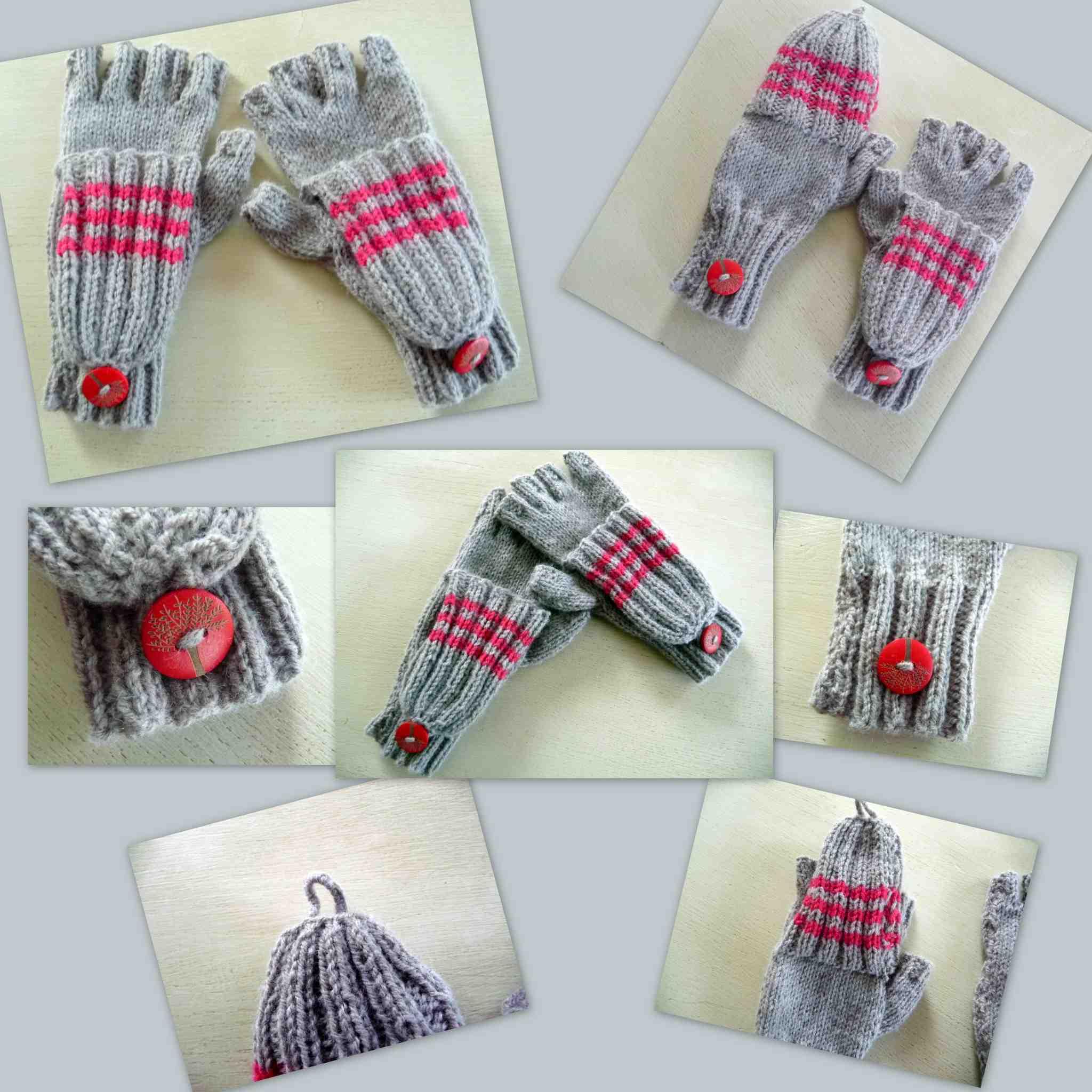 Comment tricoter des gants sans doigts?