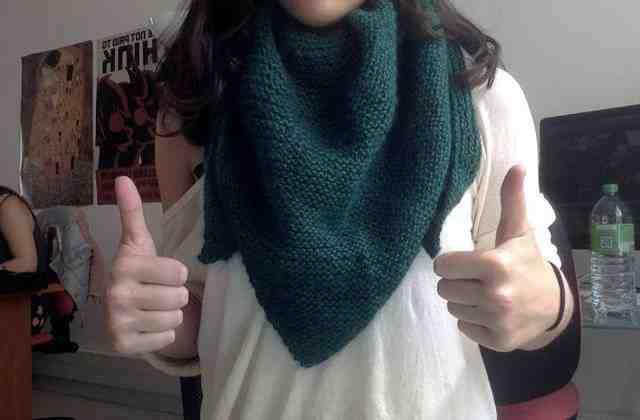 Comment tricoter des jarretières?