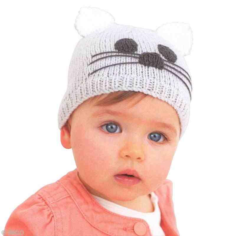 Comment tricoter un bonnet pour fille?