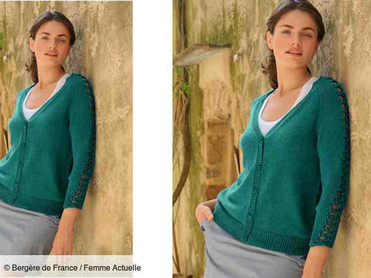 Comment tricoter un cardigan femme léger?