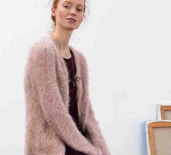 Comment tricoter un cardigan oversize?