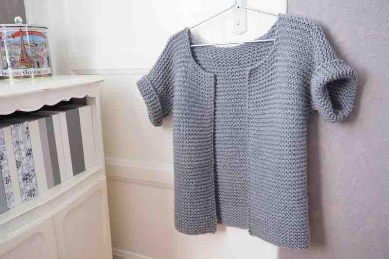 Comment tricoter un énorme cardigan?