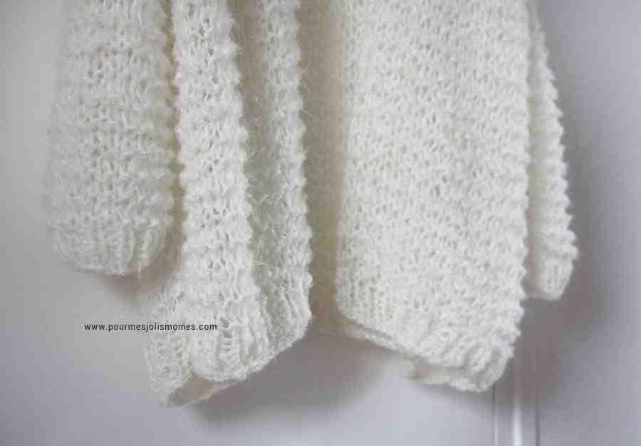 Comment tricoter un gilet femme facile ?