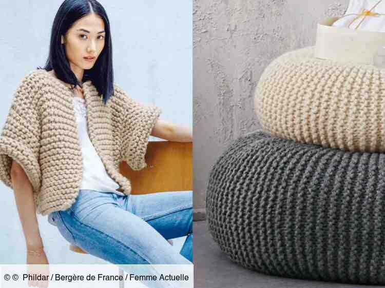 Comment tricoter un gilet pour femme ?
