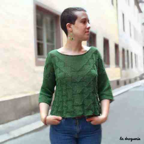 Comment tricoter un pull taille 42?