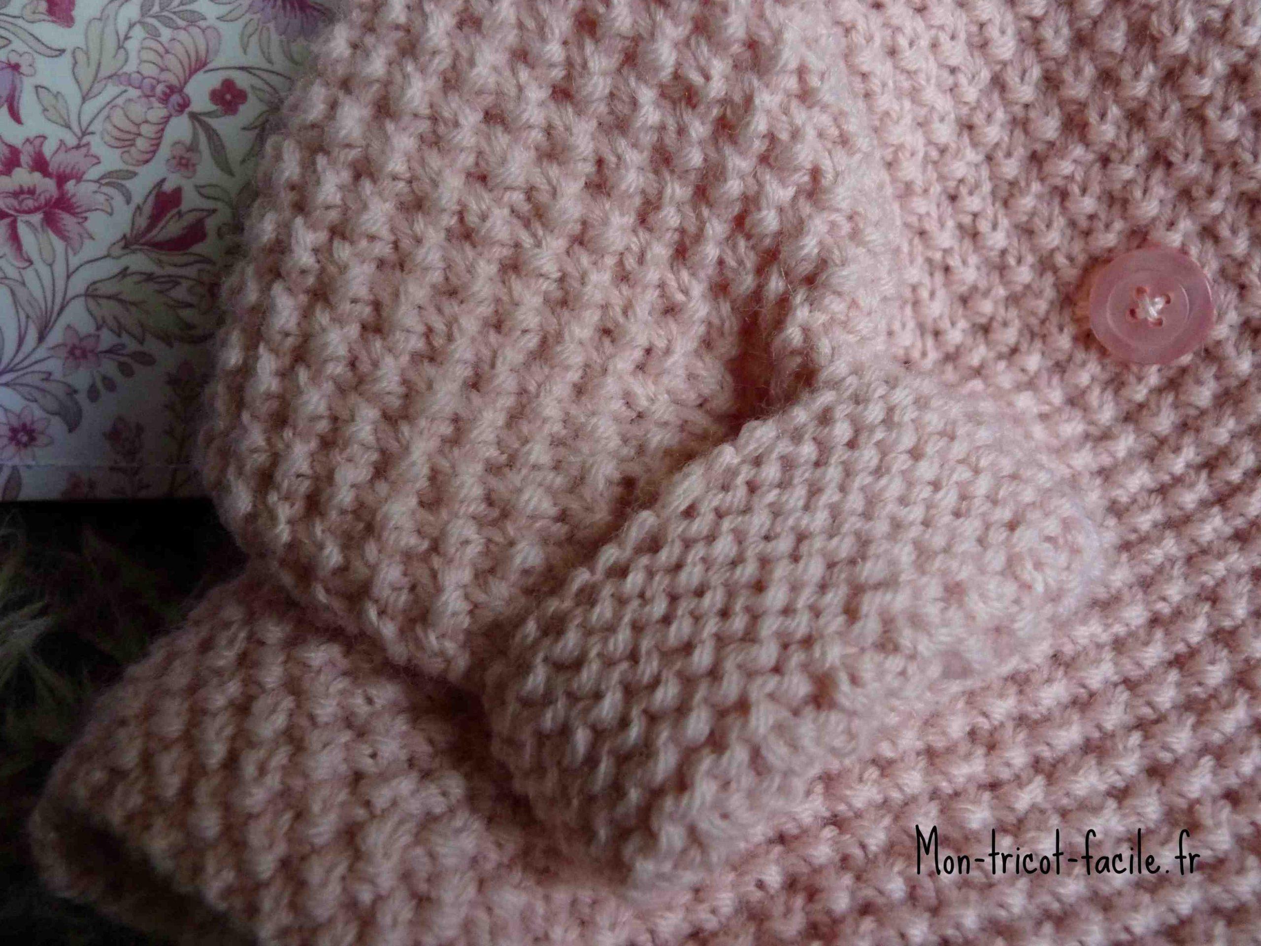 Comment tricoter un soutien-gorge bébé facile?