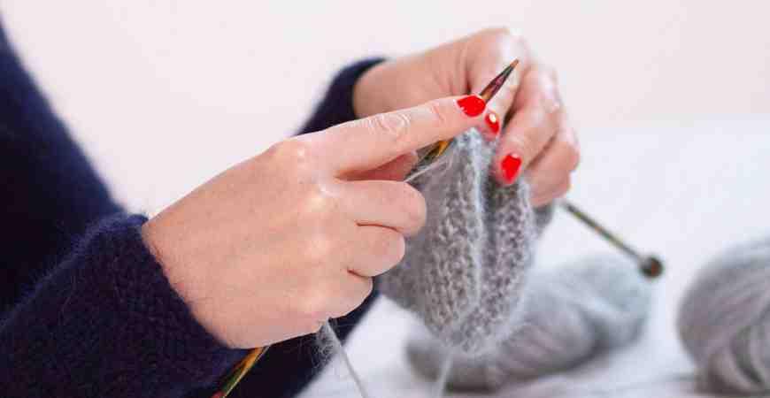 Comment tricoter une boucle de sillon?