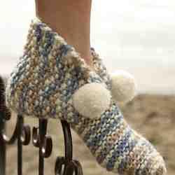 Comment tricoter une pantoufle?