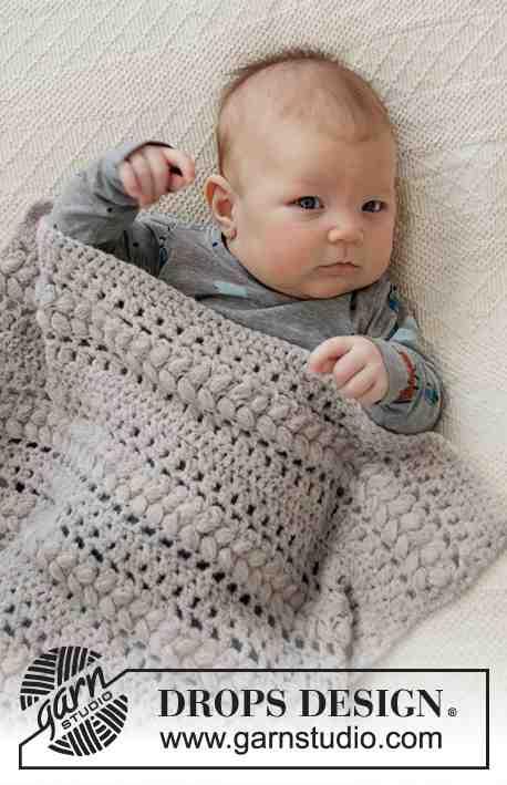 Quel fil pour tricoter une couverture bébé?