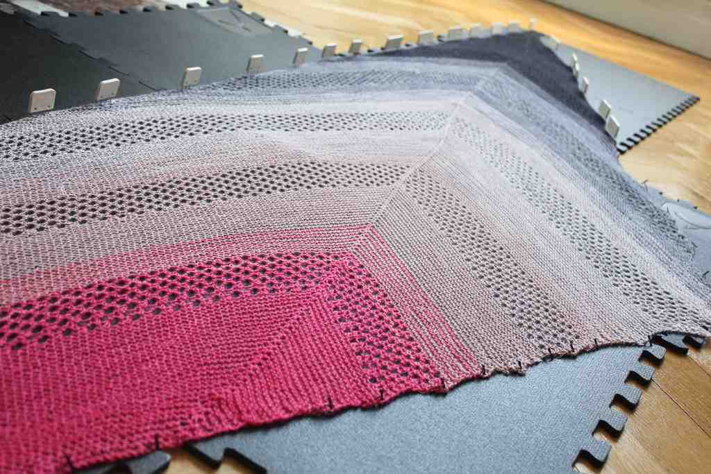 Quel intérêt de tricoter pour une laine multicolore?