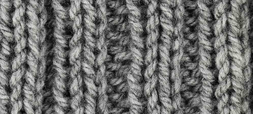 Quel point de tricot nécessite le moins de laine?