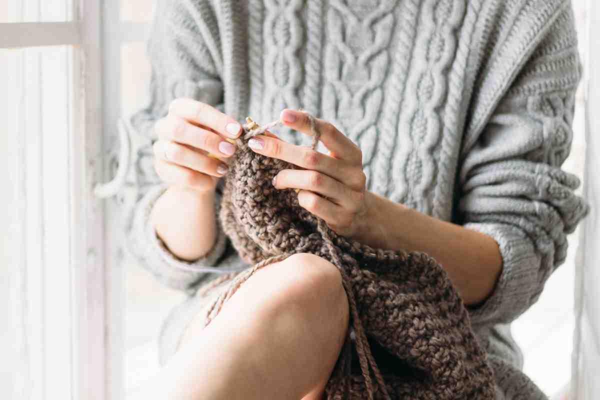 Quel point de tricot prend le moins de laine?