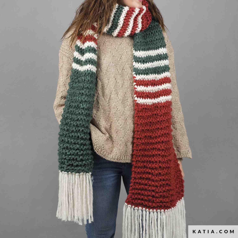 Quelle est la taille de l'aiguille pour tricoter une écharpe?