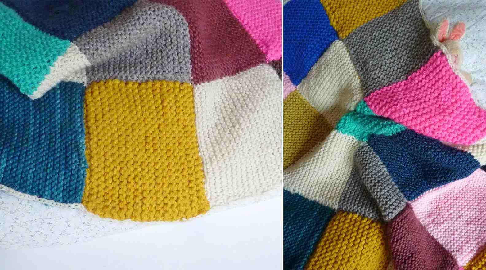 Quelle taille d'aiguille pour tricoter un plaid ?