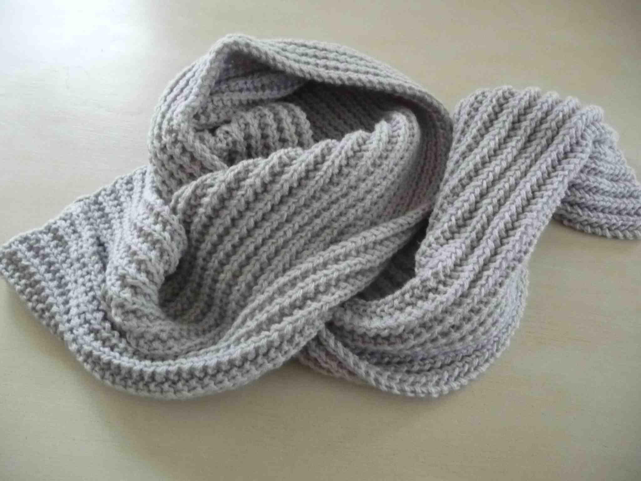 Quelle taille d'aiguille pour tricoter une écharpe ?