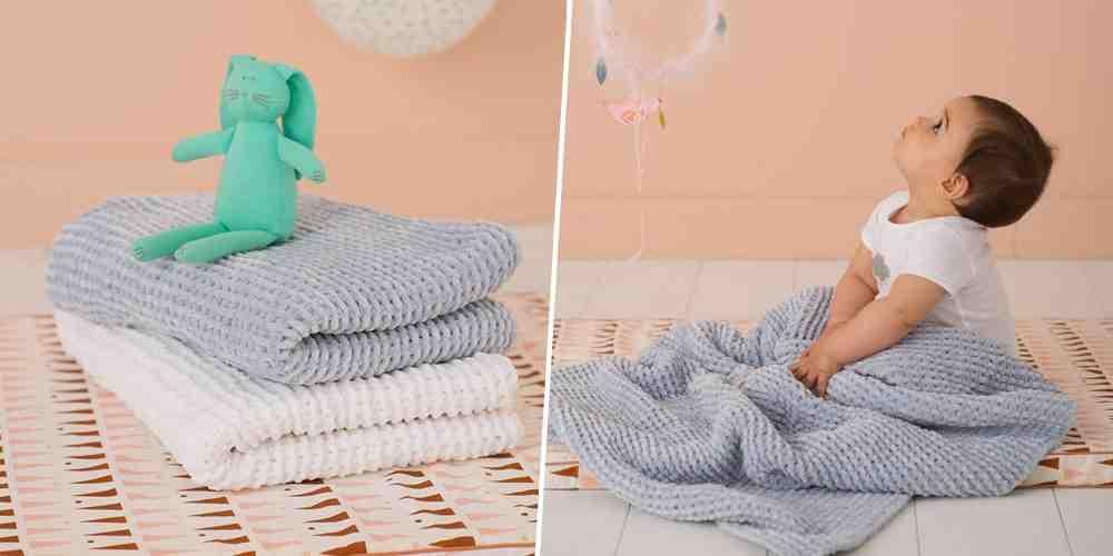 Quelle taille pour une couverture bébé?