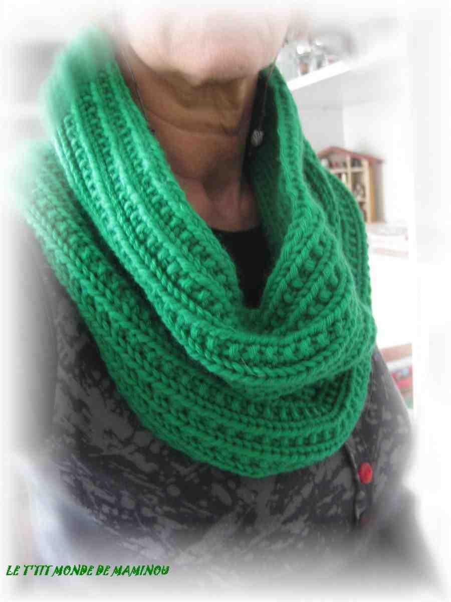 Quelles coutures tricot pour l'écharpe?