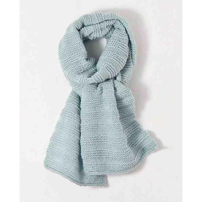 Quels sont les meilleurs points pour tricoter une écharpe?