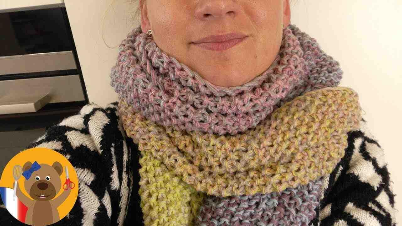 Comment confectionnez-vous les franges d'un foulard?