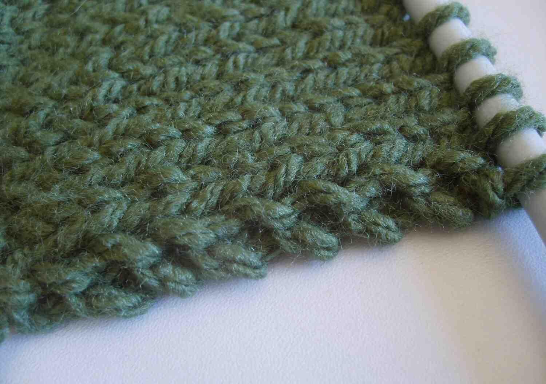 Comment éviter de tricoter le premier point?