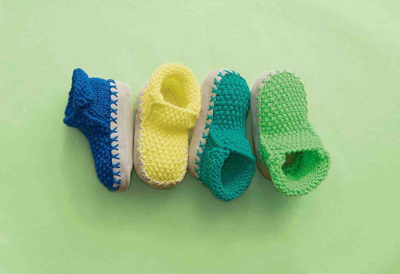 Comment faire des chaussons à tricoter pour adultes?