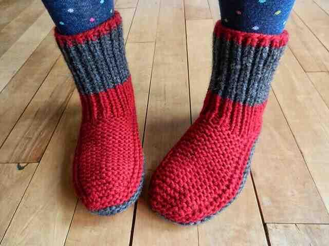 Comment faire des chaussons en laine pour adultes?