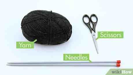 Comment faire un mouchoir tricoté?