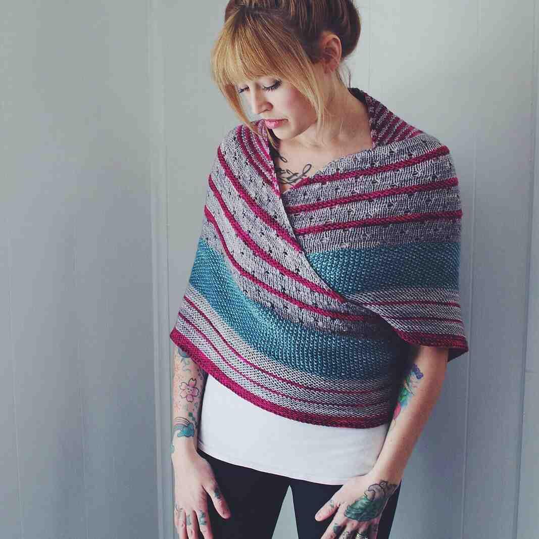 Comment faire une écharpe tricotée?