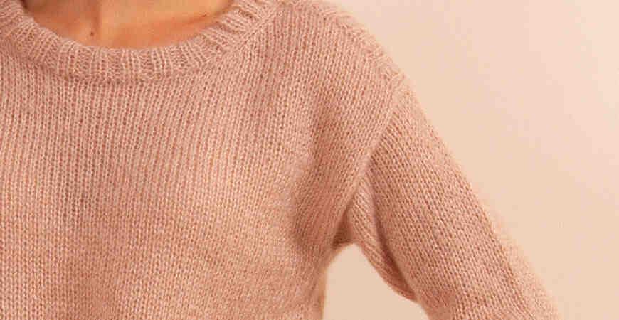 Comment tricoter avec des aiguilles à pull?