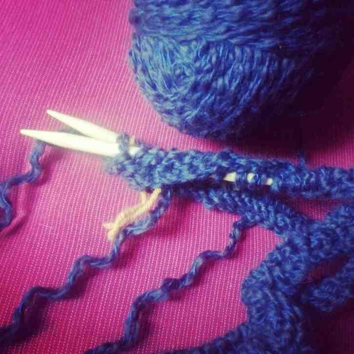 Comment tricoter avec des aiguilles?