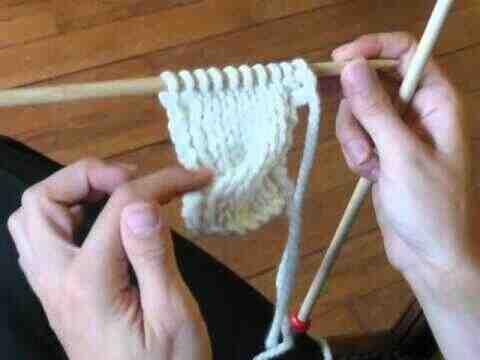 Comment tricoter des câbles sans épingle d'aide?