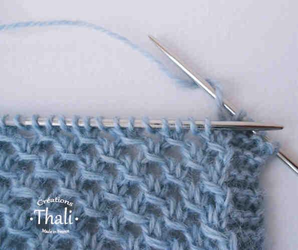 Comment tricoter des châles avec des aiguilles?