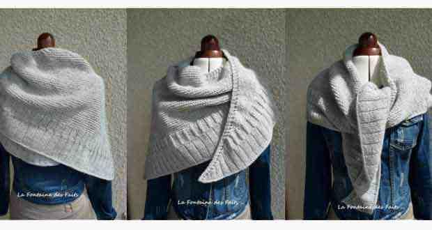 Comment tricoter des châles pour débutants?
