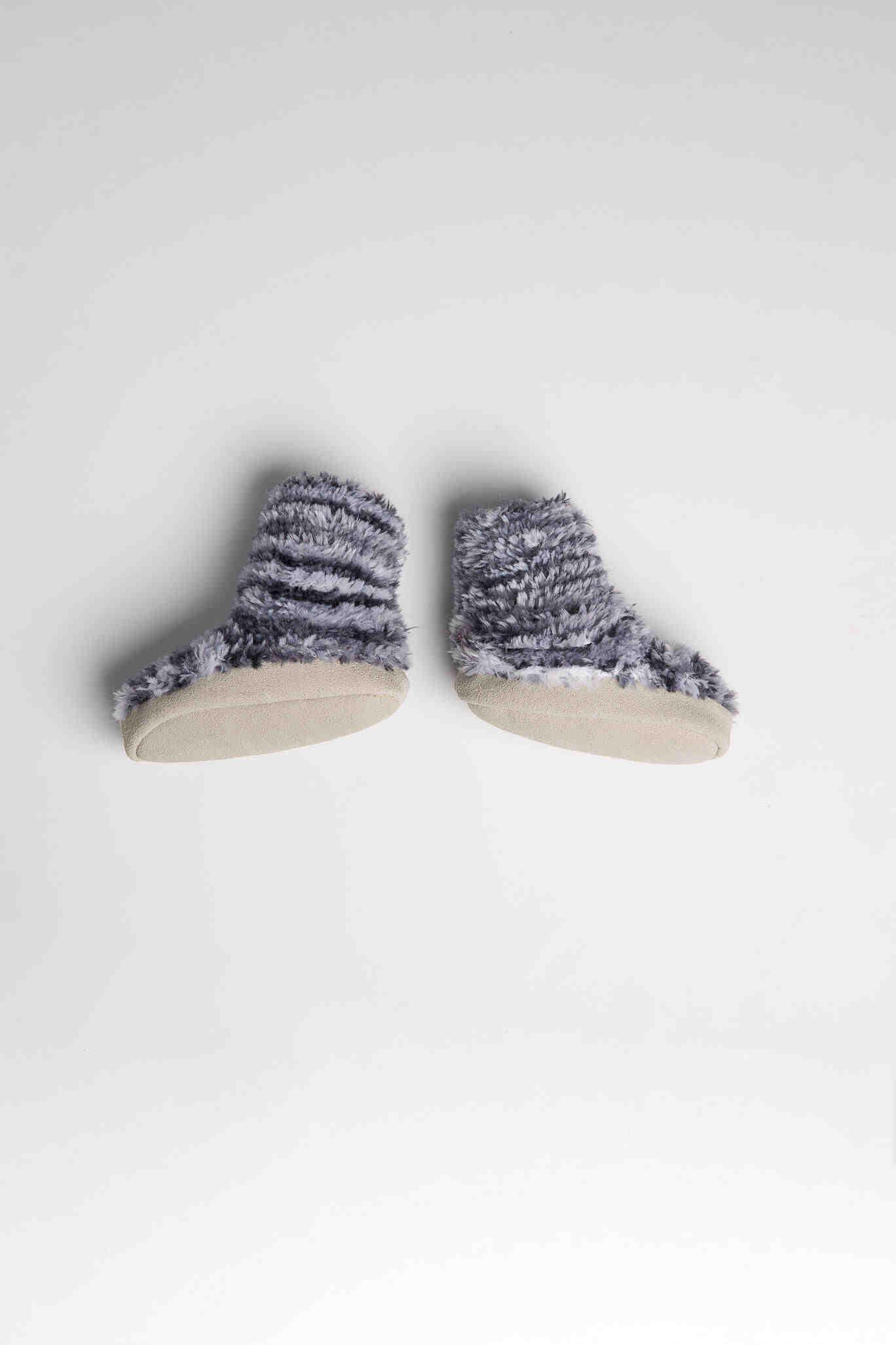 Comment tricoter des chaussons avec semelle ?