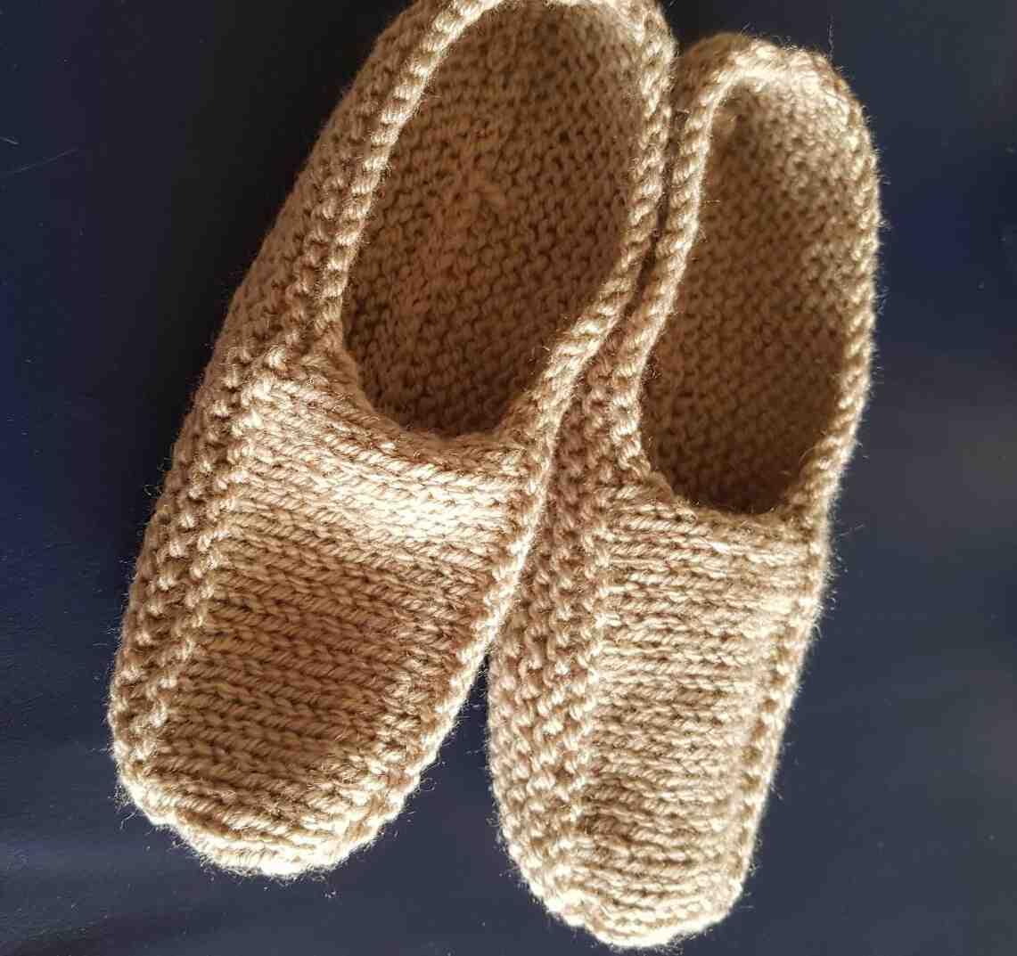 Comment tricoter des chaussons pour adultes ?