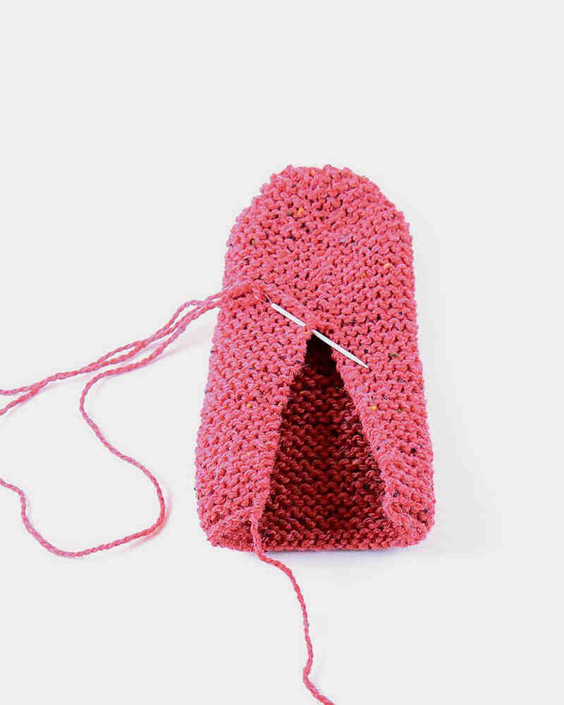 Comment tricoter des chaussons simples pour adultes?