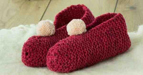 Comment tricoter les pantoufles de grand-mère?