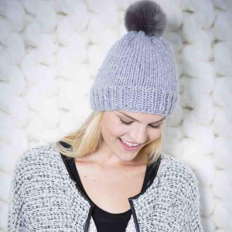 Comment tricoter un bonnet avec des aiguilles circulaires?